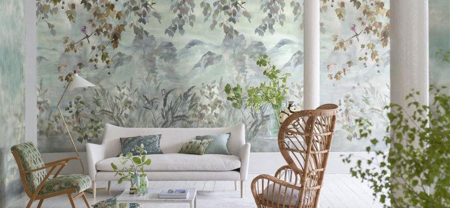 Wallpaper is better over paint